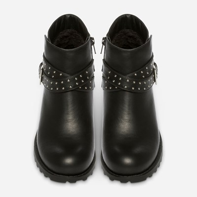 Alley Varmfôret Boots - Sort 308838 feetfirst.no