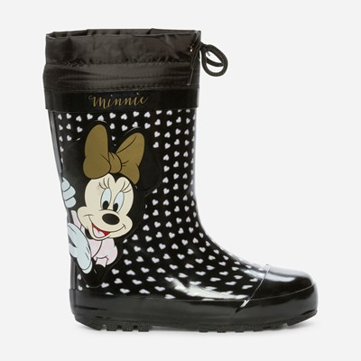 Minnie Mouse Varmfôret Gummistøvel - Sort 309624 feetfirst.no