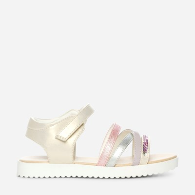 Zoey Sandal - Metall 311561 feetfirst.no