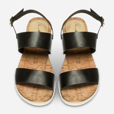 Alley Sandal - Sort 313149 feetfirst.no
