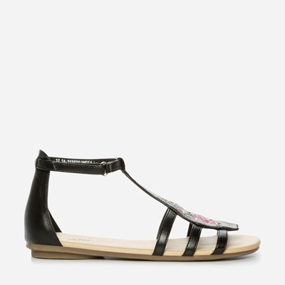 Zoey Sandal - Sort 315530 feetfirst.no