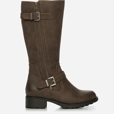 Alley Varmfôret Boots - Brun 317105 feetfirst.no