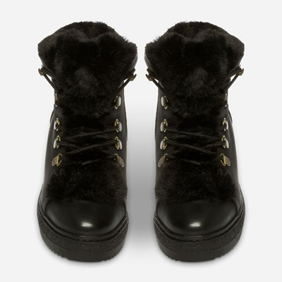 Alley Varmfôret Boots - Sort 317147 feetfirst.no