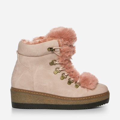 Alley Varmfôret Boots - Rosa 317148 feetfirst.no
