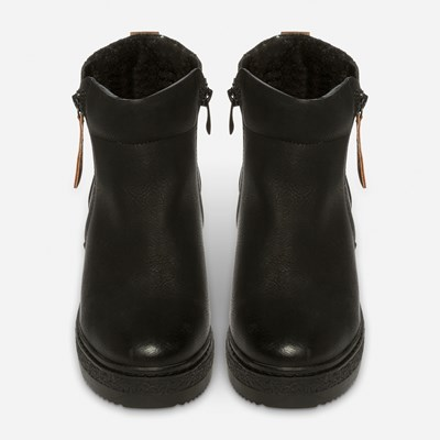 Alley Varmfôret Boots - Sort 317153 feetfirst.no