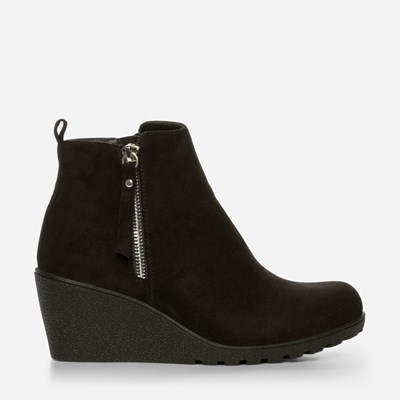 Alley Varmfôret Boots - Sort 317154 feetfirst.no