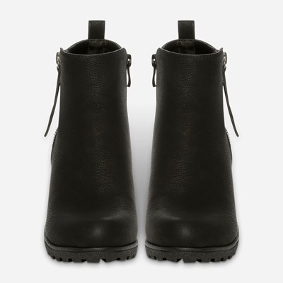 Alley Varmfôret Boots - Sort 317155 feetfirst.no