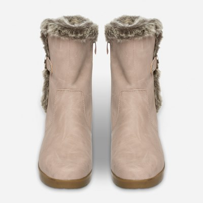 Alley Varmfôret Boots - Rosa,Rosa 317168 feetfirst.no