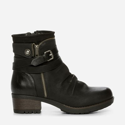 Alley Varmfôret Boots - Sort 317169 feetfirst.no