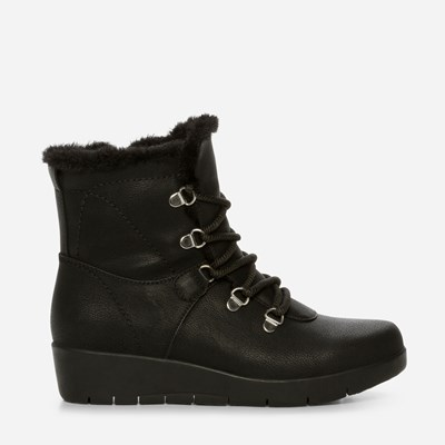 Alley Varmfôret Boots - Sort 317294 feetfirst.no