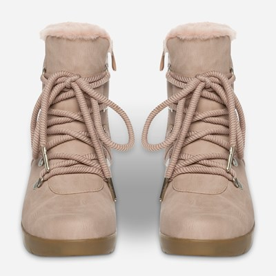 Alley Varmfôret Boots - Rosa 317295 feetfirst.no