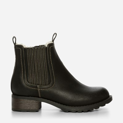 Alley Varmfôret Boots - Sort 318280 feetfirst.no