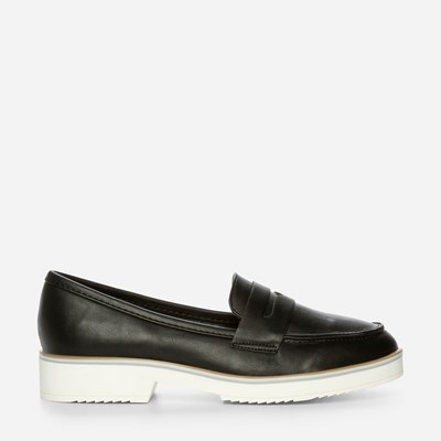 Claudia Ghizzani Loafer - Sort 318716 feetfirst.no