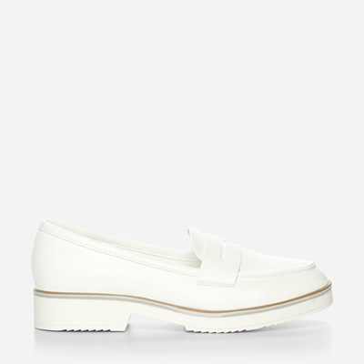 Claudia Ghizzani Loafer - Hvit 318717 feetfirst.no