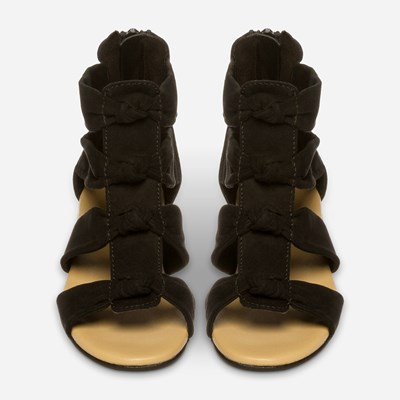 Zoey Sandal - Sort 318985 feetfirst.no