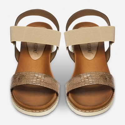 Claudia Ghizzani Sandal - Beige 319212 feetfirst.no