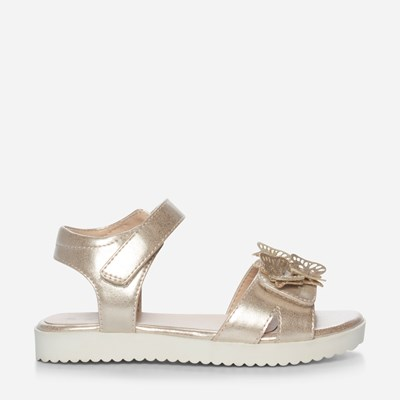 Zoey Sandal - Metall 320232 feetfirst.no