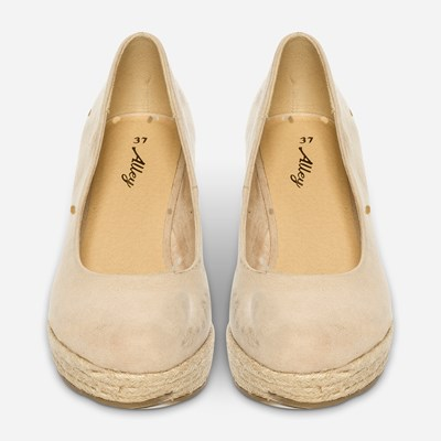 Alley Pumps - Beige,Beige 320572 feetfirst.no