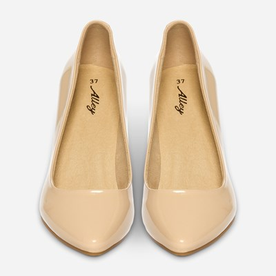 Alley Pumps - Beige 320581 feetfirst.no