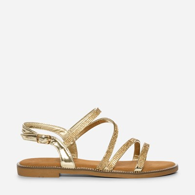 Claudia Ghizzani Sandal - Metall,Metall 320977 feetfirst.no