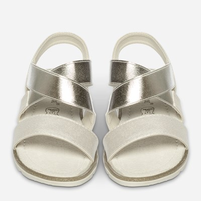 Claudia Ghizzani Sandal - Metall,Metall 325404 feetfirst.no
