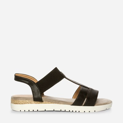 Claudia Ghizzani Sandal - Sort,Sort 325481 feetfirst.no