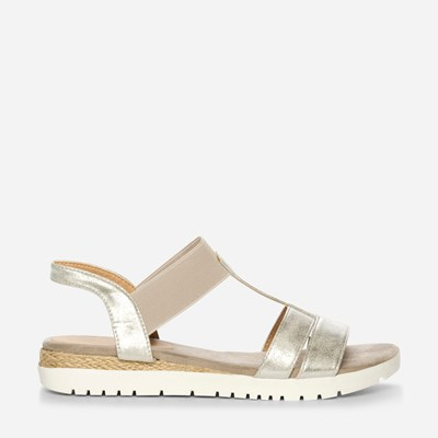 Claudia Ghizzani Sandal - Metall,Metall 325482 feetfirst.no